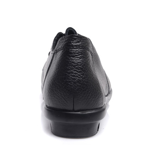 Image 4 - DRKANOL Women Flat Shoes Genuine leather Round Toe Women Casual Shoes Autumn Winter Short Plush Casual Flats Warm Shoes Woman