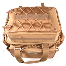 Khaki 45.5*25*21cm Fishing Tackle Bag Multifunctional 2 Bags Bolsa De Pesca Fly Fishing Bag Waterproof Bags For Fishing