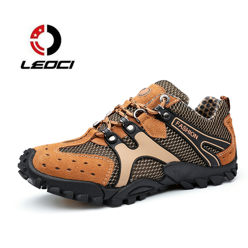 Hiking Shoes Men Sport Sneakers Breathable Outdoor Tactical Shoes Waterproof Climbing Boots Botas Trekking Hombre Zapatillas стол мастер триан 41 венге дуб сонома мст уст 41 вм дс 16