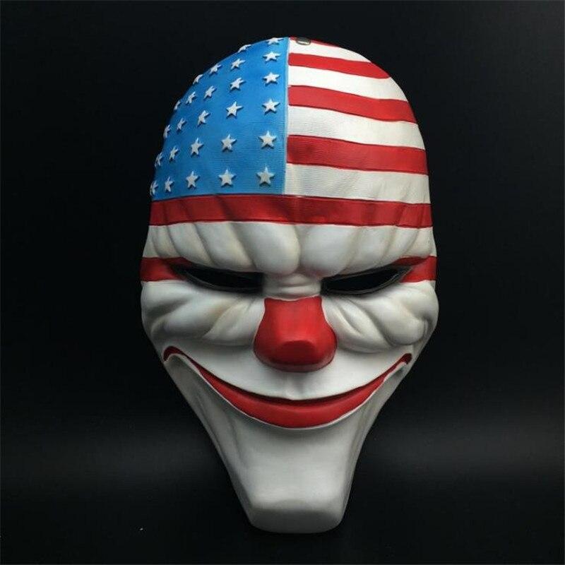 cosplay Heist Resin Mask 8