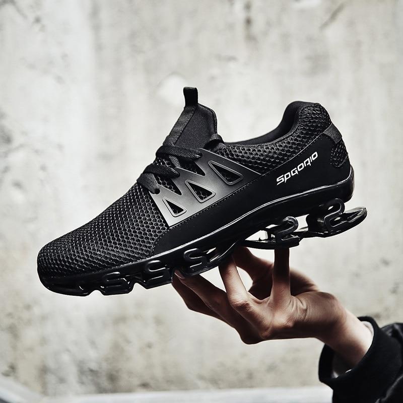 Mesh breathable elastic sneakers 1