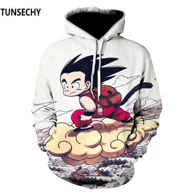 TUNSECHY Dragonball hoodies for men and women with dragonball sun wukong 3D digital printing fashion Hoodies Sweatshirts 4