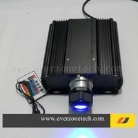 Venta Alta luminosidad 45 w con IR LED generador de luz fibra óptica con colores RGB fibra óptica estrella luz de techo motor