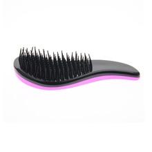 Pink Cover Hair Styling Good Men Kid Women Flat Travel Hair Comb Detangling Tangle Hair Brush