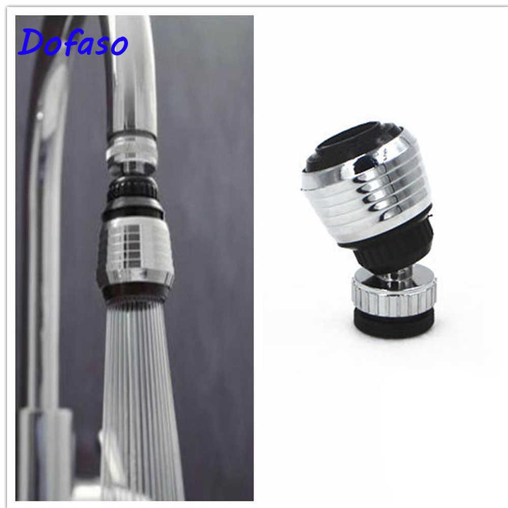 Dofaso robinet économiseur d'eau à rotation de 360   Barboteur aérateur diffuseur pivotant buse de robinet pour cuisine et salle de bains, buse d'aérateur