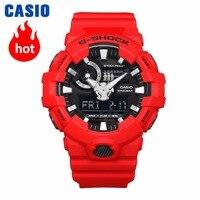 Часы Casio G SHOCK Мужские кварцевые спортивные часы прохлада Резиновые ремешок водонепроницаемые g shock Часы GA 700