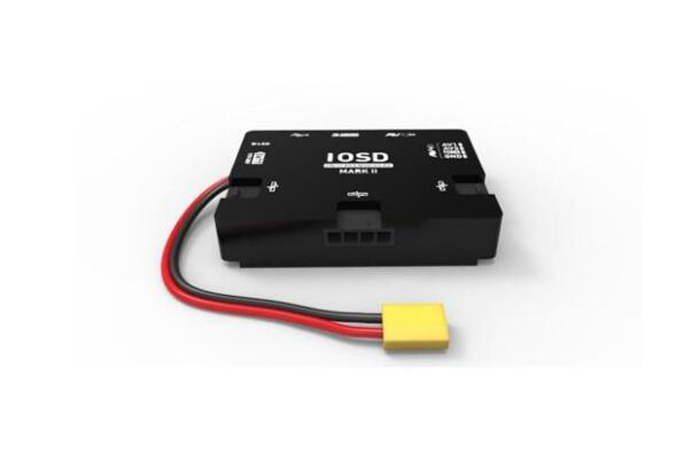 IOSD MARK II Video Superimposed System Black Box A2 N3 A3 NAZA OSD Support WKM 3-6S Lipo No Need Adapter for RC Mulitcopter fpv s2 osd barometer version osd board read naza data phantom 2 iosd osd barometer with 8m gps module