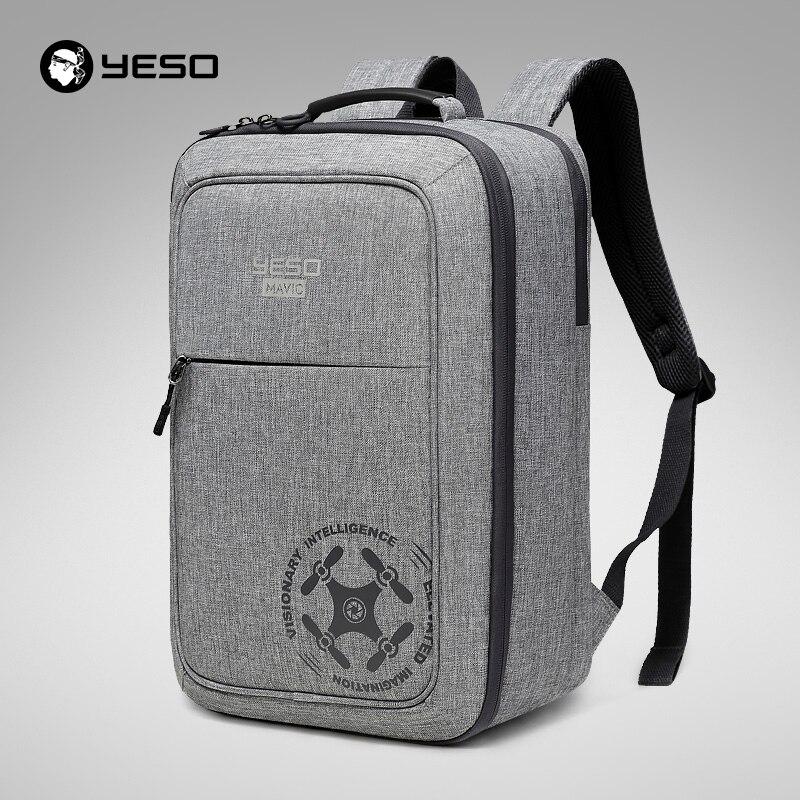 YESO UAV Multi functional Backpack For Mavic Pro Light Fashion DSLR RIG UAV Backpacks for DJI