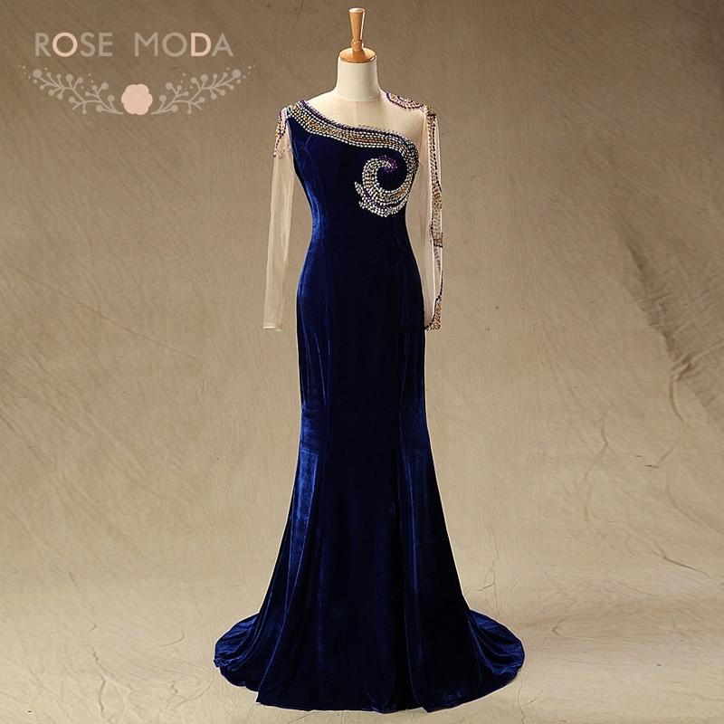 गुलाब मोडा उच्च गर्दन - वेडिंग पार्टी कपड़े
