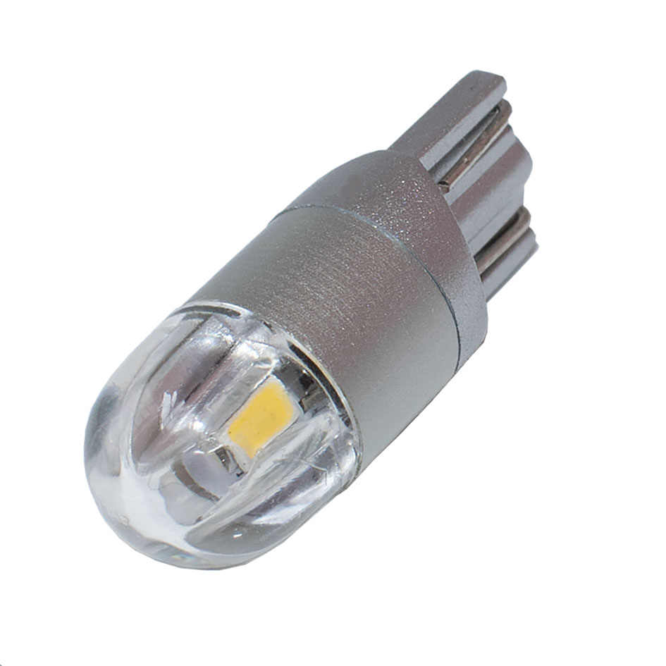 1PCS Car Styling T10 W5W 2 SMD 3030 LED Auto Lamps 168 501 WY5W 2SMD Parking Fog Bulb Plate Light Auto Univera Cars Signal Light