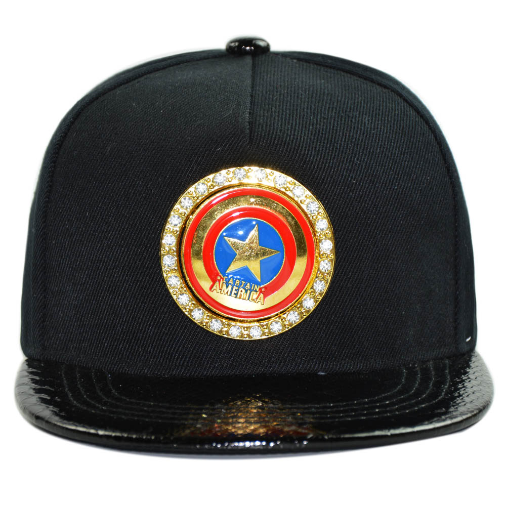 433958854953c US $11.9 |Hip Hop Children Caps Metal Bling Bling Dollar Snapback Hats for  Boys Girls Cool Cosplay King Cap -in Baseball Caps from Apparel Accessories  ...