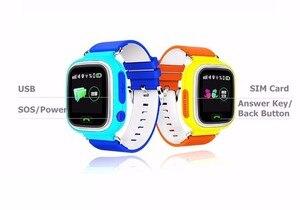 Image 2 - 키즈 시계 GPS 트래커 시계 와이파이 Q90 G72 터치 스크린 SOS 통화 위치 장치 스마트 시계 안티 분실 모니터 어린이 시계
