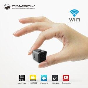 SQ13-videocámara mini HD, con WIFI, 1080P, Sensor de vídeo, visión nocturna, Micro Cámara DVR, cámara grabadora de movimiento SQ 13