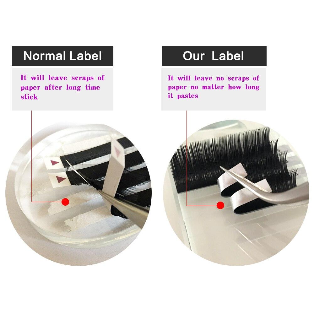 Image 2 - NAGARAKU  10 Trays/set 7 15mm Mixed In One Tray Eyelash Extension Individual eyelashes Mink Eyelash False eyelash Make up Tool-in False Eyelashes from Beauty & Health