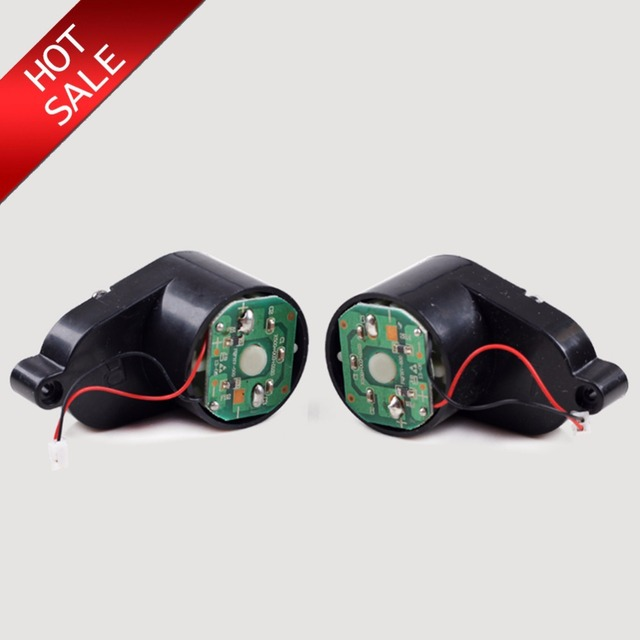 Side Brush Motors Assembly for PANDA X500  Vacuum Cleaning Robot Including Left Motor Assembly x1pc+ Right Motor Assembly x1pc