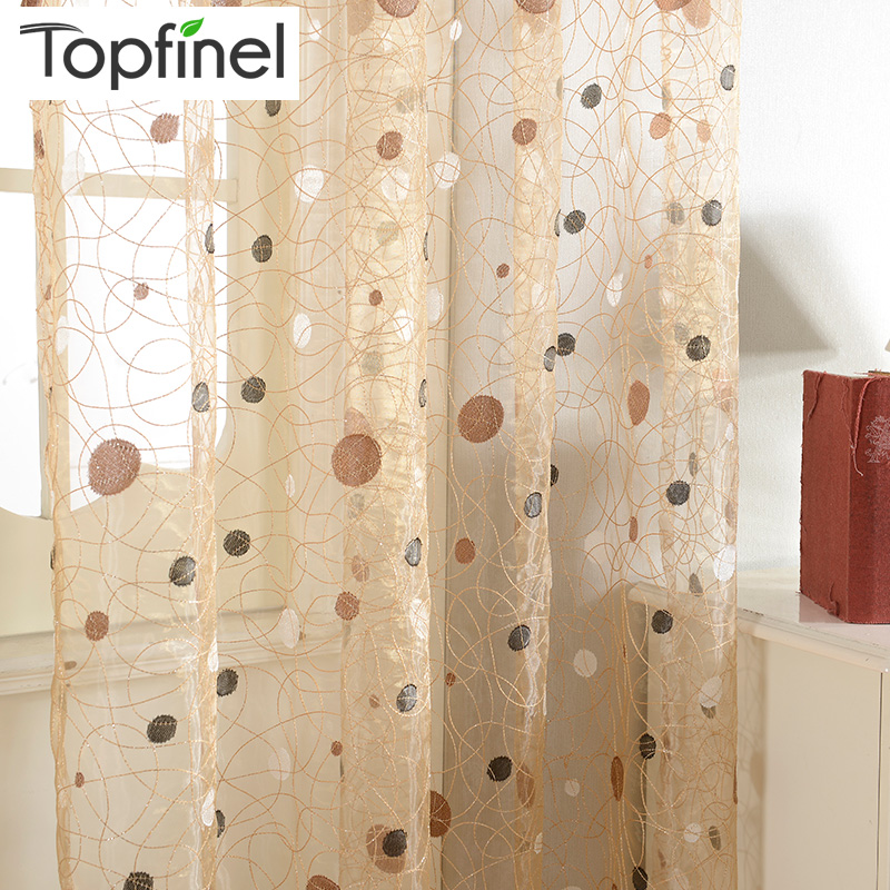 2015 New Bird Nest Modern Window Sheer Curtain For Kitchen
