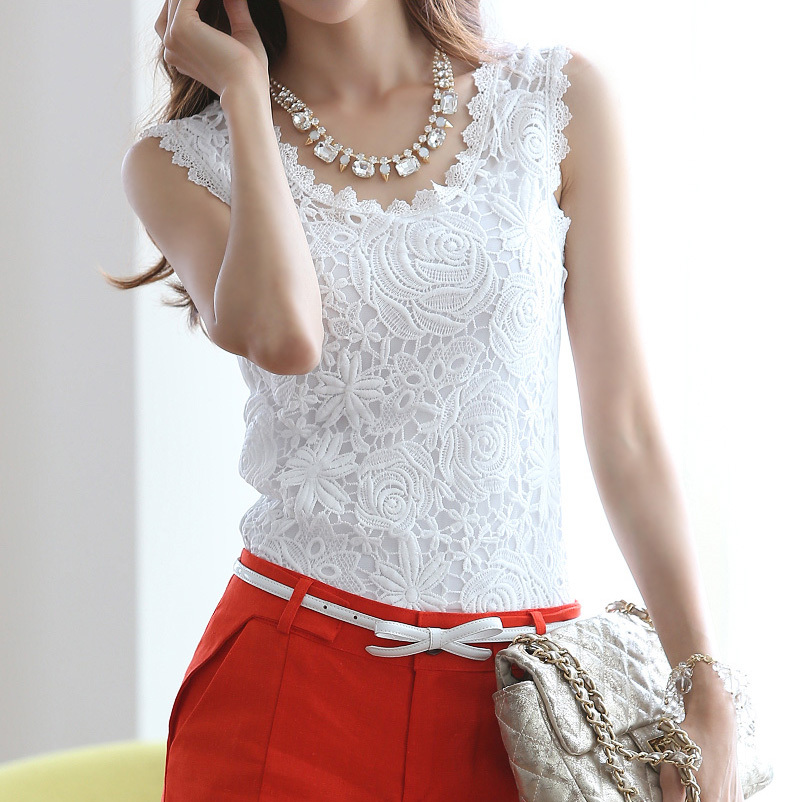 2017 korean shirt women tank cotton lace white t shirt cheap clothes china tee shirts tshirt camisetas y tops camisas femininas