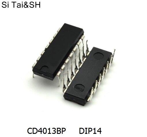 Free shipping 20pcs/lot 4013 CD4013BP S Dual D-type flip-flop logic p DIP14 original