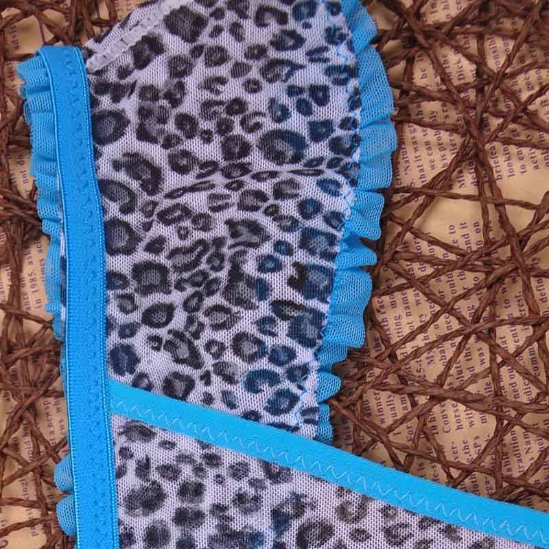 5XL Ukuran Besar Wanita Warna Hitam Seksi Pakaian Dalam Wanita Pakaian Dalam Celana Dalam Pakaian Dalam Wanita Bikini Telinga Celana/Thong/G-string 1 pcs/lot AC11