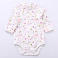 Girl Baby-Boy Overalls Rompers Body-Suit Kids Children Pyjamas High-Neck