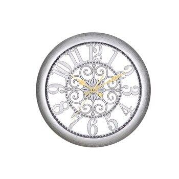 14 дюймов европейские Креативные Круглые Часы Ретро настенные часы современный дизайн часы кухня спальня кабинет немой декоративные кварце...