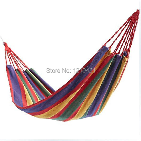 1pcs Free shipping 185x80cm Single thickening canvas hammock Outdoor camping leisure swing1pcs Free shipping 185x80cm Single thickening canvas hammock Outdoor camping leisure swing