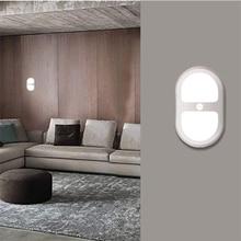LED Motion PIR Sensor Light Wardrobe Cabinets Lamp Corridor Bedroom Voice-activated light control Energy Saving