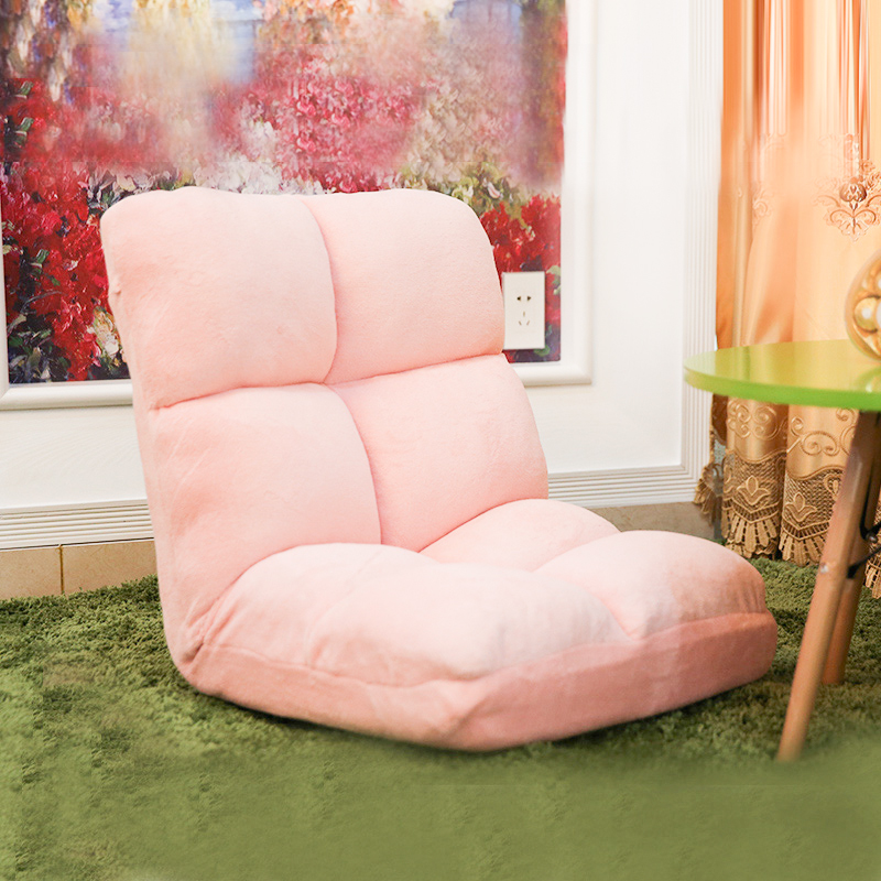"Lazy Chair Floor 4 Colors Lovely Japanese Reclining ""Zaisu"" Seat Modern Fashion Leisure 5 Step Adjsutable Recliner Lazy Chair"