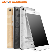 Oukitel c5 pro 5.0 «Android 6.0 4 Г Смартфон 2 ГБ + 16 ГБ 720*1280 MTK6737 Quad Core 1.3 ГГц Мобильный Телефон 5MP 2000 мАч GPS Мобильного Телефона