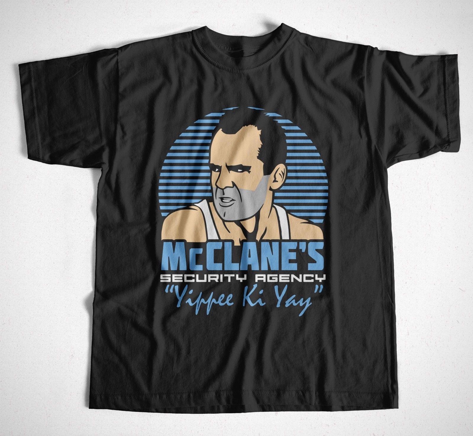 Mc Clanes Security S 4Xl Die Hard Bruce Willis Action Film John ...