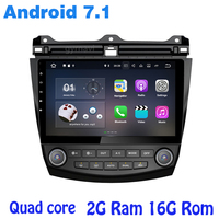 Android 7 1 Quad Core Car Raido Gps Player For Honda Accord 2003 2007 With Rds
