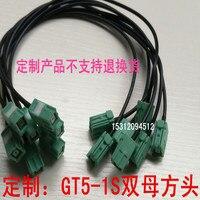 Mazda nawigacja gps linia przyłączeniowa Toyota antena gps połączenie GT5 1S kwadratowa głowica antena gps w Części do klimatyzatorów od AGD na