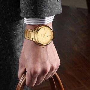 Image 2 - ผู้ชายนาฬิกาFlameless USBไฟแช็กนาฬิกาผู้ชายควอตซ์นาฬิกาข้อมือทังสเตนสแตนเลสไฟแช็กนาฬิกาJH329