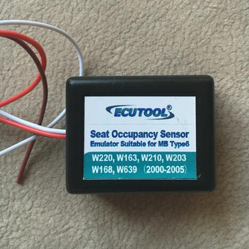 Neue Sitzbelegungssensor Emulator Für mercedes benz W220 W163 W210 W203 W168 Kostenloser Versand Einfache Installation für MB Typ 6