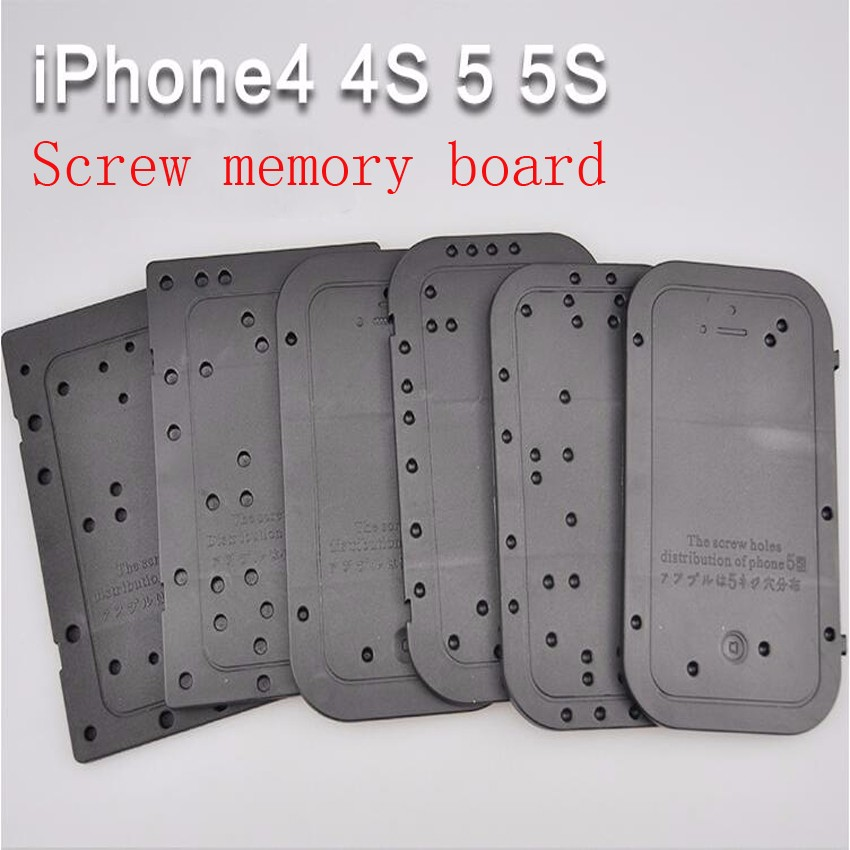 iphone5S Screw memory board Position board Disassemble maintenance tool distribution positioning plate for iPhone