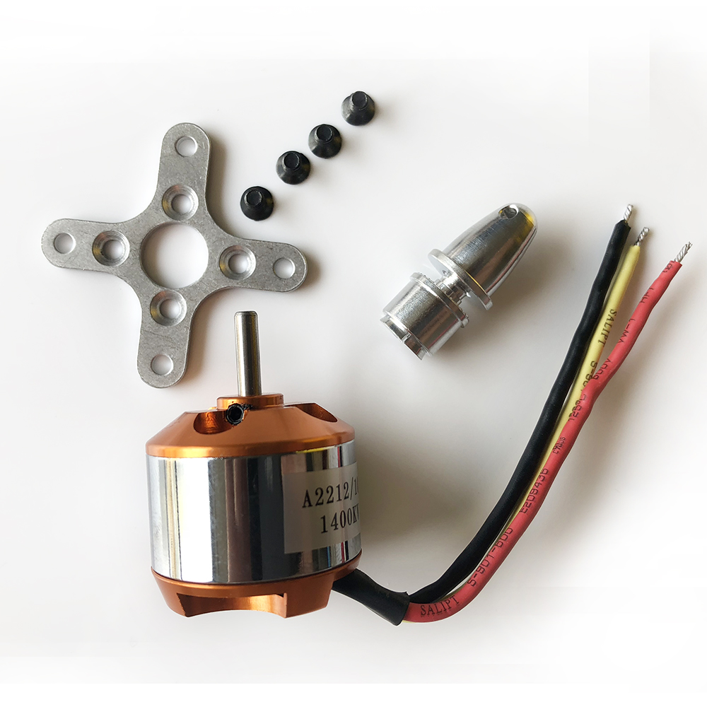 1 Piece A2212 930KV 1000KV 1400KV 2200KV 2450KV Brushless Motor for RC Quad rotor Multicopter Aircraft Drone motor купить в Москве 2019