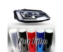 200CMX30CM 6 colors Auto Car Light Headlight Taillight Tint styling waterproof Vinyl Film Sticker Free shipping