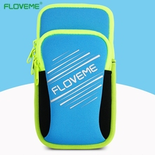 FLOVEME 5.5inch Armband Phone Cases for iPhone 7 6 6s Case Sport Arm Band Belt Cover Running GYM Bag Case For Samsung Huawei LG