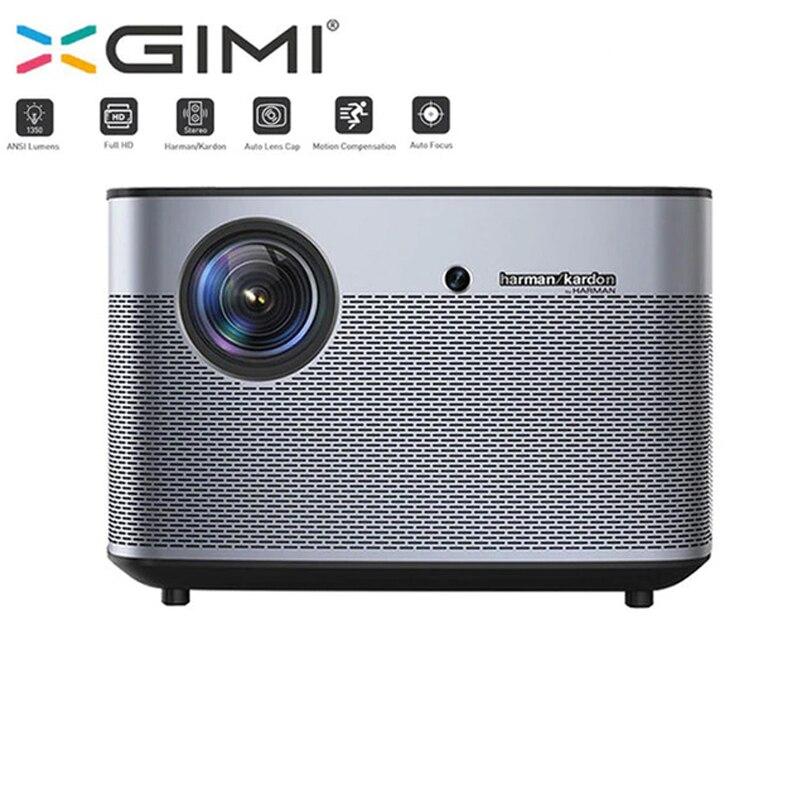 Xgimi h2 1080 P Full проектор HD DLP 1350 ANSI люмен Поддержка 4 K Android tv Wi-Fi Bluetooth дома Театр 300 Бимер
