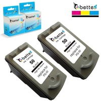 PG 50 Remanufactured Inkjet Cartridge For Canon PG50 IP2200 Ip6220D Ip6210D MP150 MP160 MP170 MP180 MP450