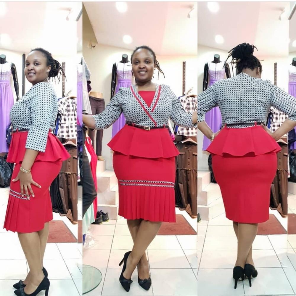 Robes africaines pour femmes vêtements africains robe africaine impression treillis Dashiki dames vêtements ankara robes de femmes africaines