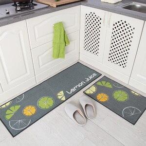 Image 2 - [Byetee] кухонный коврик, длинный водопоглощающий нескользящий коврик, дверной коврик, маслостойкий коврик для ног, подушка для ванной, коврик для спальни и кровати