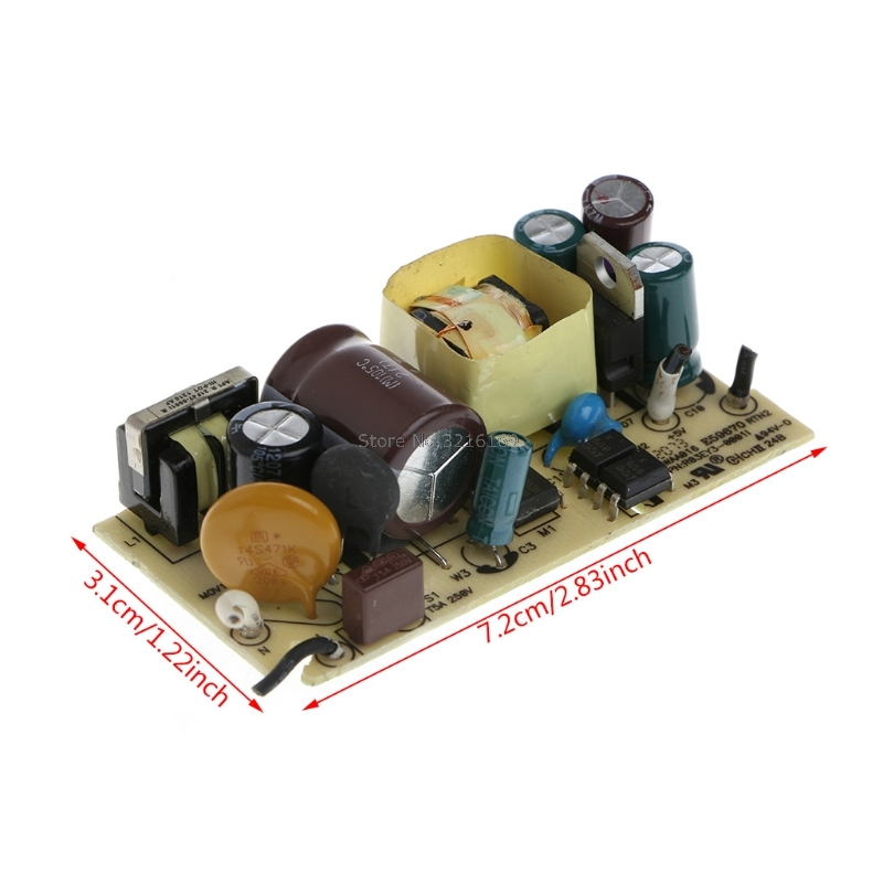 For AC-DC 100-240V To 5V 2A 2000MA Switching Power Supply Replace Repair Module Promotion