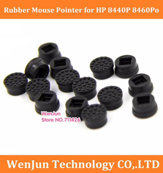 new Rubber Mouse Pointer for HP 8440P 8460Po 2540 2540p 2170P 2560p Trackpoint Little Dot Cap Stick trackpoint mouse rubber caps image