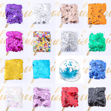 Wedding Party Arrangement Decorations  Confetti Balloons Filled with Confetti 1.5cm Paper Color Throwing Sequin Balloons Filled стоимость