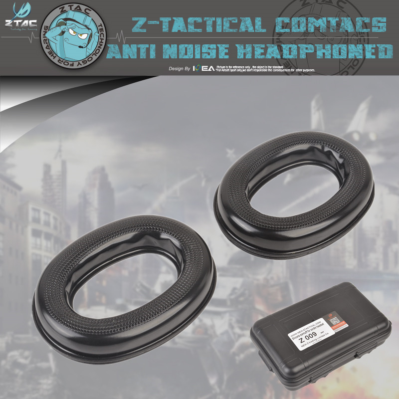 Z-Tactical Z-TAC Walkie Z009 Silicone Earmuff For Sordin Headset  Material High Quality Version