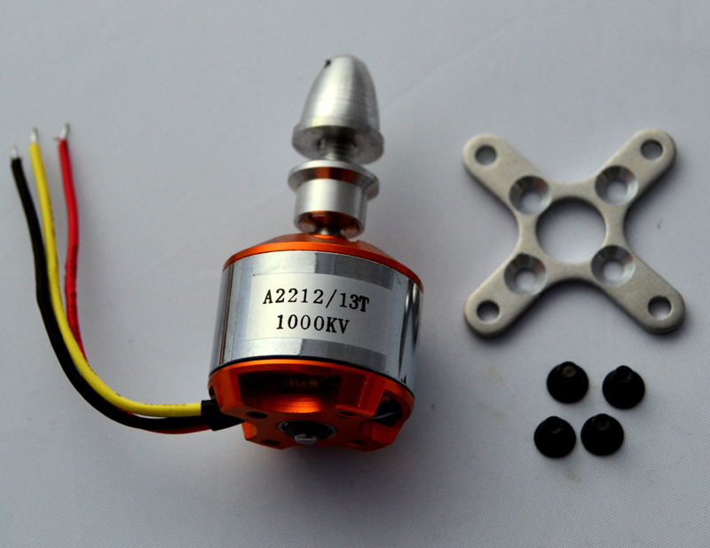 A2212 Brushless Motor 1000KV for RC F450 F550 Aircraft Plane Multi copter Brushless Outrunner Motor Free