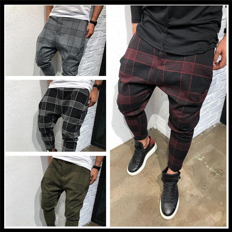 Genossenschaft Lisibooo Sommer Stil Mens Quadratischen Gitter Hosen 3d Digitale Druck Casual Hosen Farbverlauf Männlichen Mode Sport Hosen