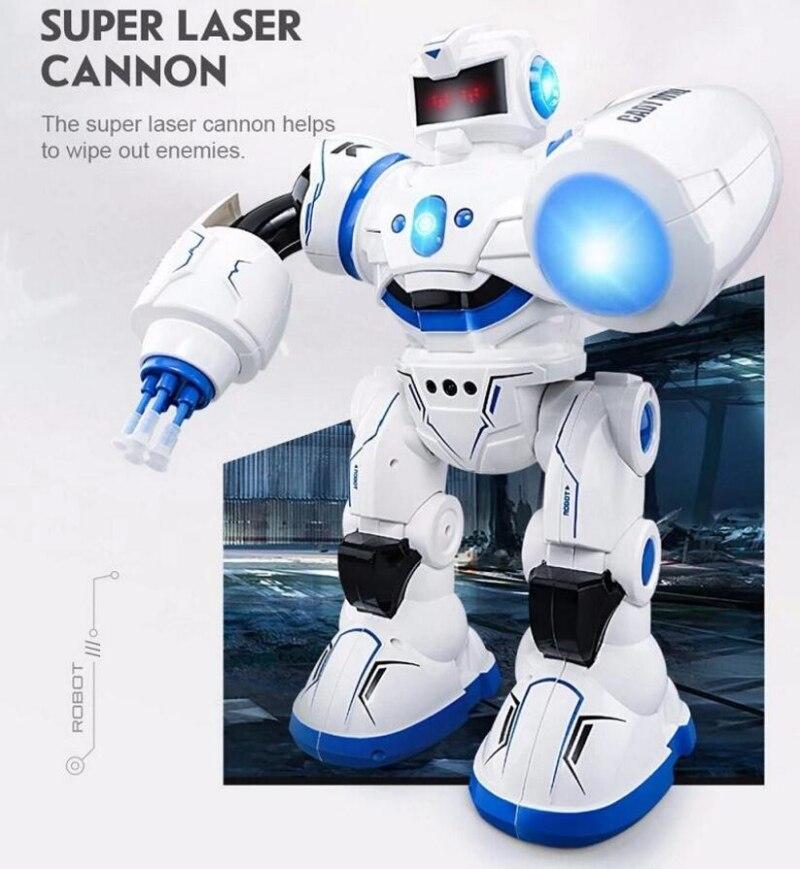 2018 nouvelle éducation électrique RC Robot jouet K 1 2.4G Intelligent RC Robot ABS danse/musique télécommande Robot meilleur cadeau enfant - 3