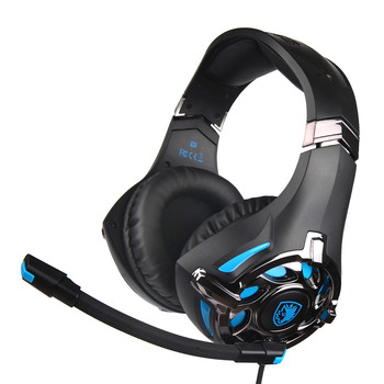 New High Qualit Headphones Gaming Headset For PS4Xbox One PC Over-Ear Gaming Headphone Gaming Earphones 0302#3